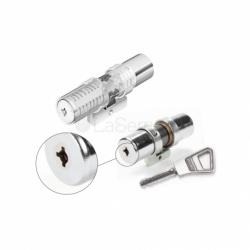 Cylindre Bricard Supersûreté sans bille à bouton - 73 mm-714000