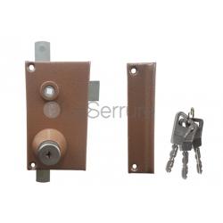Mécanisme Bricard supersureté 3 points pour serrures 3 points en applique verticale à fouillot droite -1101021