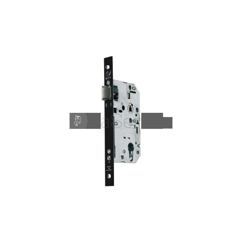 serrure de porte vachette d45 urgence encastrer t ti re 20 mm. Black Bedroom Furniture Sets. Home Design Ideas