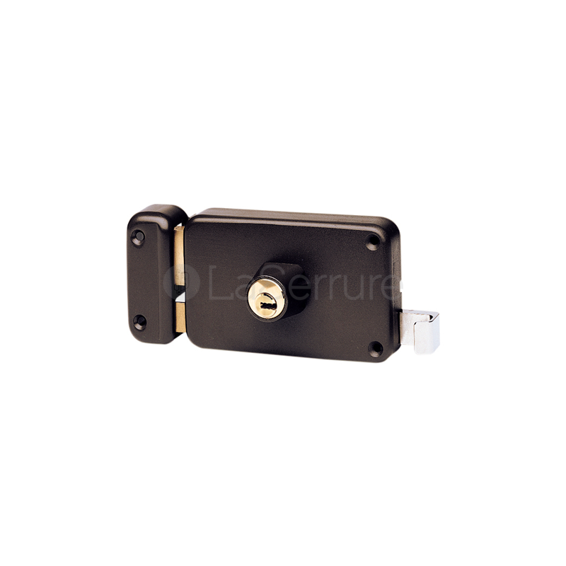 serrure vachette en applique cylindre radial nt horizontale tirage. Black Bedroom Furniture Sets. Home Design Ideas