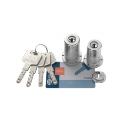 Jeu de cylindres Bricard Chifral S2 rond- 67 mm