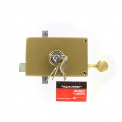 Sérrure JPM KEZO 4000S OMEGA 3 points  horizontale à tirage Gauche  - 503000-822A - 45mm
