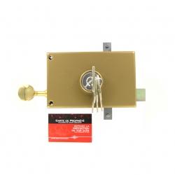 SERRURE JPM KEZO 4000S OMEGA 3 points  horizontale à tirage Gauche  - 503000-822A - 45mm