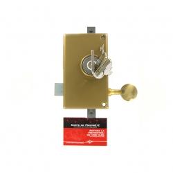Sérrure JPM KEZO 4000S OMEGA 3 points  verticale à tirage Gauche  - 510000-822A - 45mm