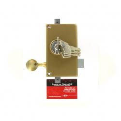 Sérrure JPM KEZO 4000S OMEGA 3 points  verticale à tirage DROITE  - 510000-822A - 45mm