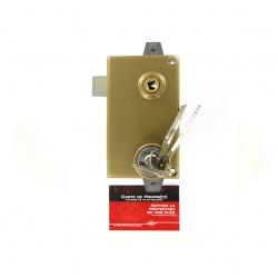Sérrure JPM KEZO 4000S OMEGA 3 points  verticale à fouillot gauche  - 511000-822A - 45mm