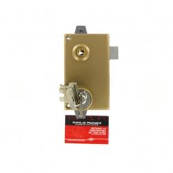 Sérrure JPM KEZO 4000S OMEGA 3 points  verticale à fouillot DROITE  - 511000-822A - 45mm