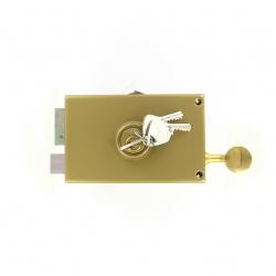 Sérrure JPM VEGA  1 points  horizontale à tirage Gauche clés plattes - 120300-012A - 3 clés - 45mm