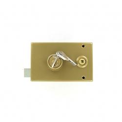 Sérrure JPM VEGA  1 points  horizontale à fouillot Gauche clés plattes - 120400-012A - 3 clés - 45mm