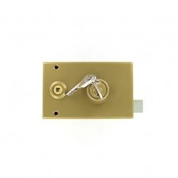 Sérrure JPM VEGA  1 points  horizontale à fouillot Droite clés plattes - 120400-012A - 3 clés - 45mm