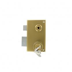 Sérrure JPM VEGA 1 points  verticale à fouillot Gauche clés plattes - 121100-012A - 3 clés  45mm