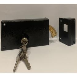 Serrure Metalux Horizontale à crochet 1 Point avec cylindre européen Droite